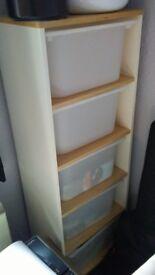 Shelf storage unit (Ikea)