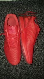 The product is adidas zx flux red. It is size 11. It is still in good conditon.