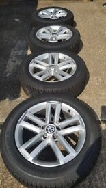 VW / Volkswagen Original Amarok Alloys and Firelli tyres