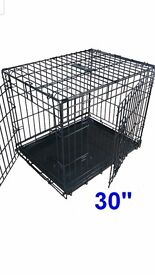 Dog cage and quality puppy pads