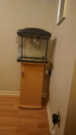 48l fish tank and stand offers welcome