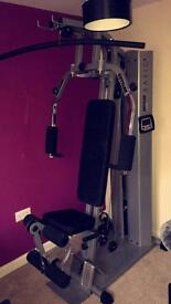 Kettler basic multi-gym and an Oxford || rowing machine