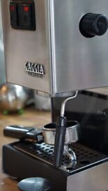GAGGIA CLASSIC 1050W 2015 COFFEE MACHINE PROSUMER QUALITY BEAUTIFUL MODEL