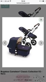 Bugaboo cameleon3 classic collection v2-navy