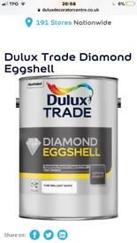 Dulux Trade Diamond Eggshell 5 Litres