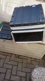 4U flight case for Mixer & effects etc A1 condition, only 10 months old.