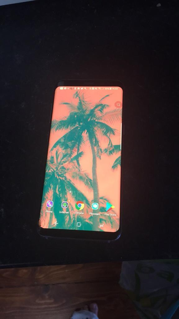 Samsung s8 126 GB orchid Grey