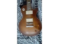 Epiphone Les Paul Standard with EMG pickups. 280 O.N.O