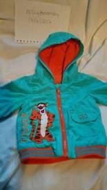 Tigger light blue coat