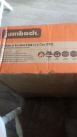 jumbuck 4 burner flat top gas bbq