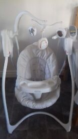 Graco baby swing seat. No longer needed as baby now a toddler