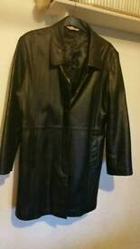 Coat leather