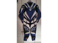 Alpine Stars race leathers for sale.