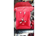 Quinny Buzz 4 stroller with Quinny footmuff, travel bag, shopping basket