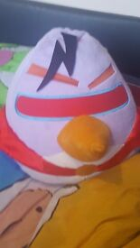 Xxlarge angry bird which says 3 phrases