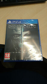 BRAND NEW Dishonored 2 SEALED PS4 PS 4 Playstation 4