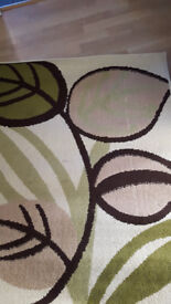 two floor rugs in good condition in east london