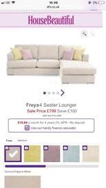 Dfs Freya sofa
