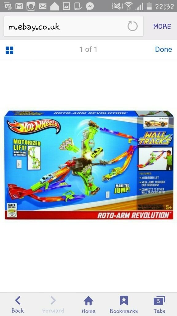 hot wheels rota arm revolution set