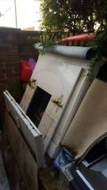 Free Marble fireplace with hearth & backing