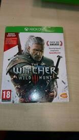 The witcher wild hunt x box one