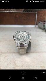 Rolex diamond men's watch