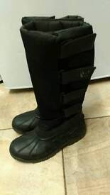 Woof wear long stable yard boots, size 6.