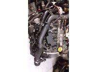 VAUXHALL Astra 1.7cdti engine 100hp