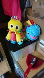 Two Lamaze baby toys