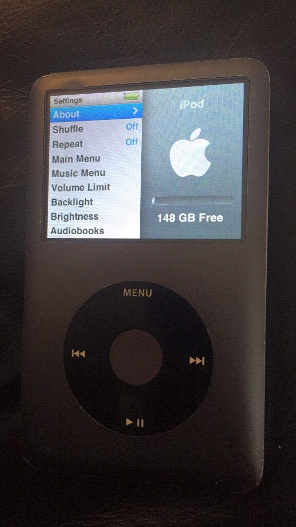 iPod 6th gen 160gb