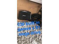 Mega drive built in games