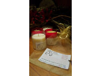 Fork Handles? - NO, FOUR CANDLES - Soy and Beeswax for CATS and CAT parents. Each candle 24 -30 hrs.