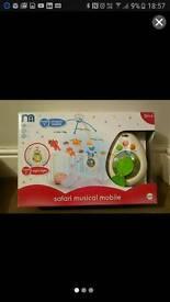 Mothercare Safari Musical Mobile
