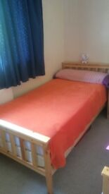 Bed and wardrobe. Quick sell moving abroad