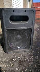 Ev sb121 bass speakers