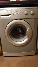 Silver Washing machine