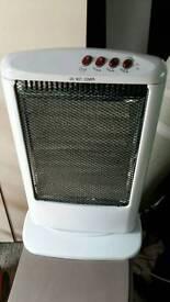 Portable halogen heater