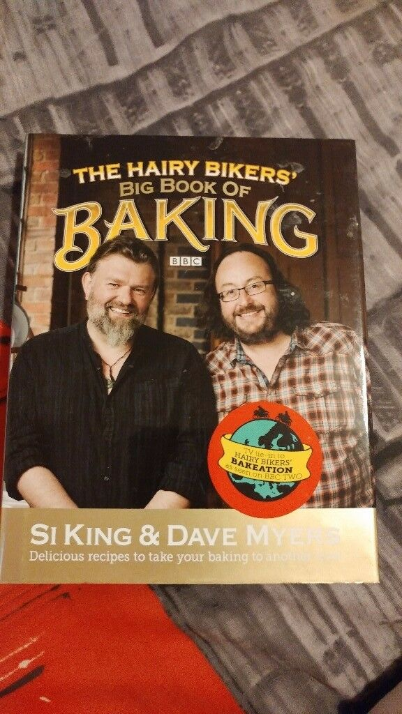 The hairy bikers baking cook book