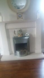 Cream Limestone Fire Surround