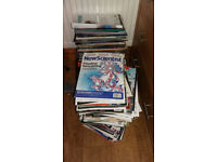 New Scientist Science magazines (recent) 250+ issues - £35 or make an offer