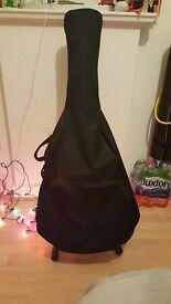 Westfield blue-black acoustic guitar