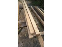 reclaimed 3x2 timber