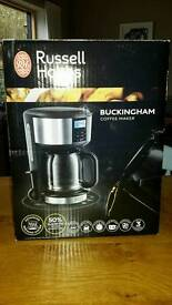 Brand New and Boxed Buckingham Coffee Maker