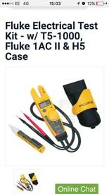 Boxed and sealed electrical tester fluke t5 1000