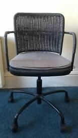 IKEA woven desk chair
