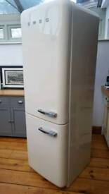 Free delivery SMEG FAB32 GLOSS CREAM Fridge Freezer SUPERCLEAN (NEW SHAPE) £299.97 Offers considered