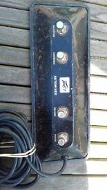 Peavey Mk iv Bass Amp Footswitch