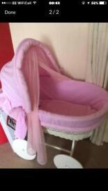 Large girls crib