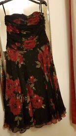 Beautiful Monsoon Party Dress Size 12