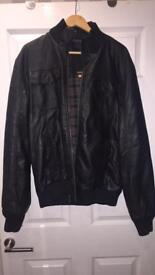 Slaters Real Leather Jacket